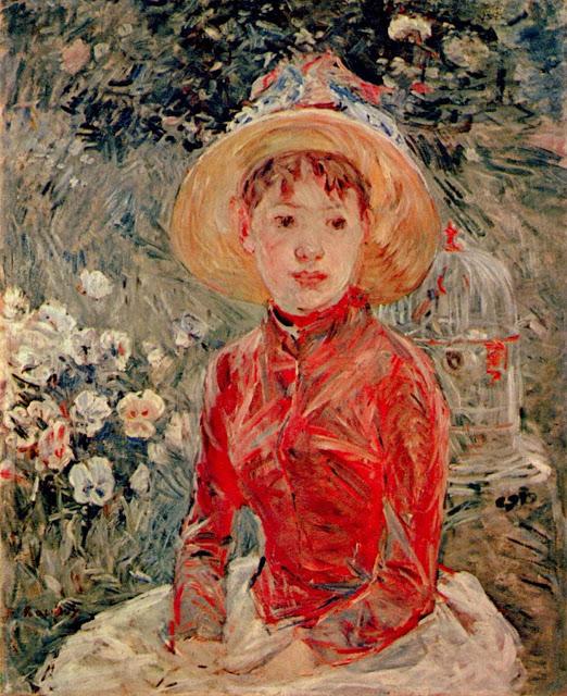 Czerwona bluzka, 1885