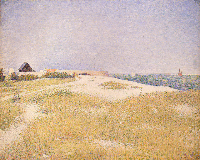 Georges Seurat View of Fort Samson, 1885