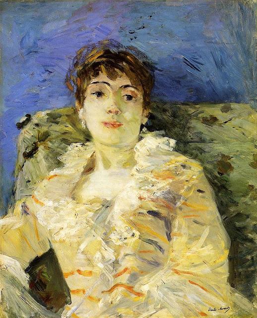 Młoda kobieta, 1885