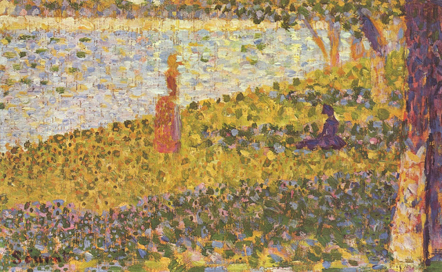 Georges Seurat Women at the Waters Edge, 1885-6