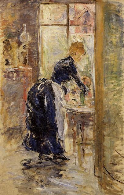 Mała służąca, 1886