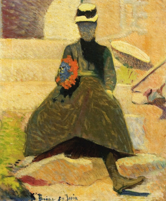 1886, Woman at Saint-Briac