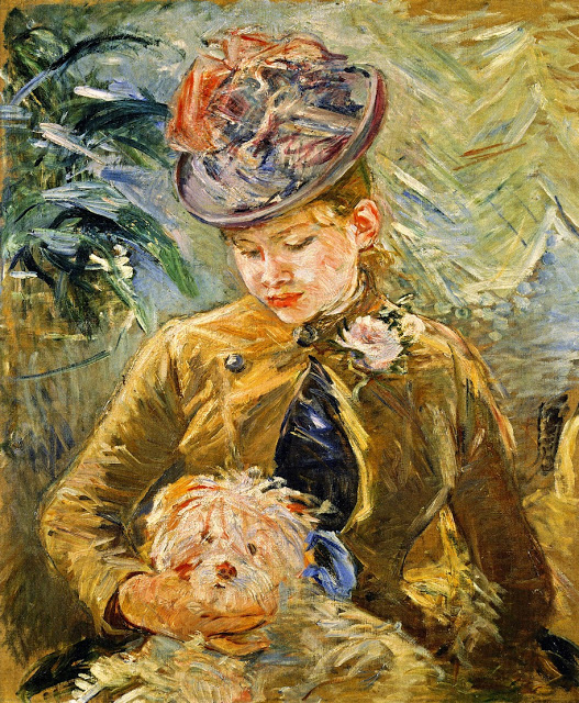 Dziewczyna z pieskiem, 1887