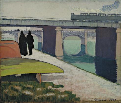 1887, Iron Bridges at Asnières