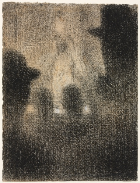 Georges Seurat Café-concert, 1887-8