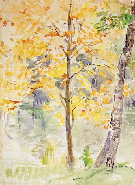 Kolory jesieni w lasku Bulońskim, 1888