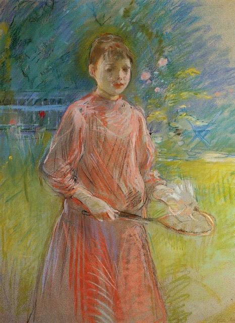 Girl with Shuttlecock, 1888