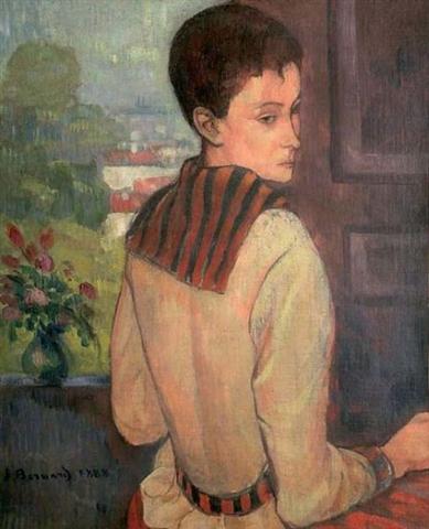 1888, Portrait de Madame Schuffenecker