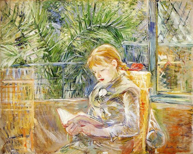 Czytająca, 1888