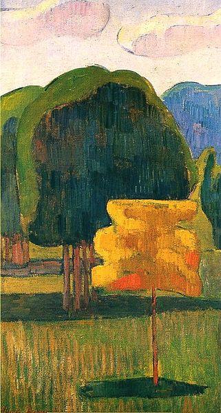 1888, Yellow Tree