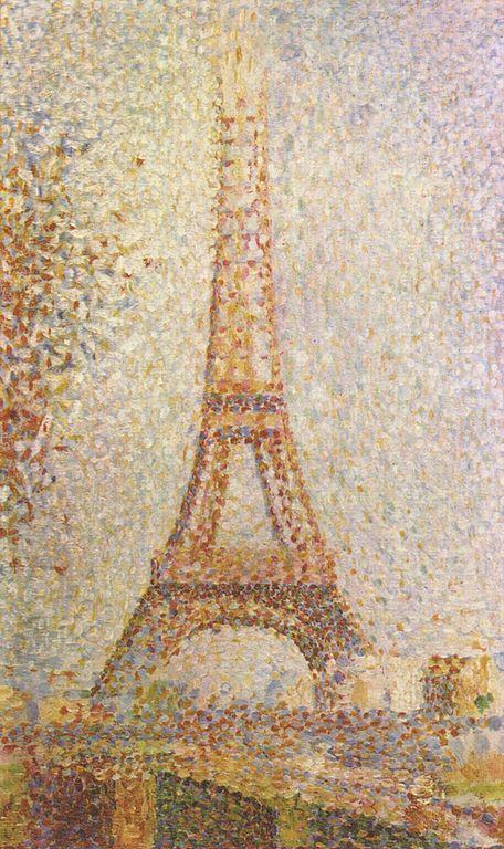 Georges Seurat La Tour Eiffel, 1889