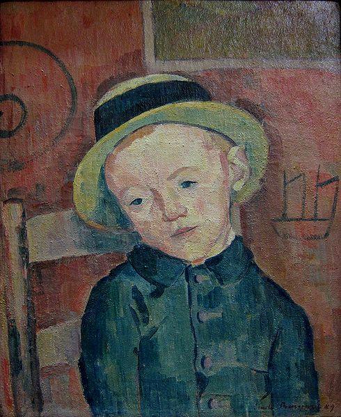 1889, Portrait of a Boy in Hat