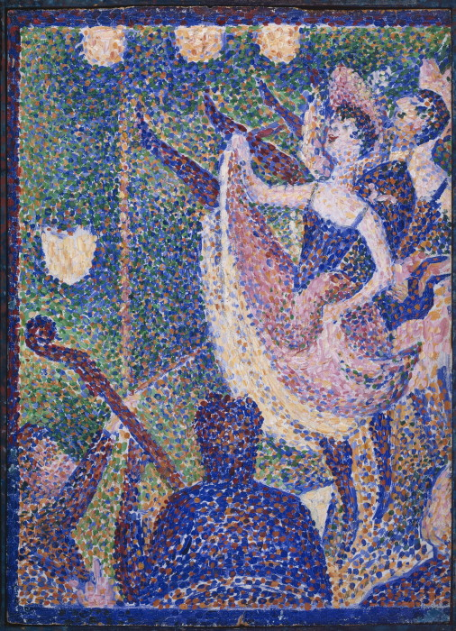 Georges Seurat Study for Le Chahut, 1889,