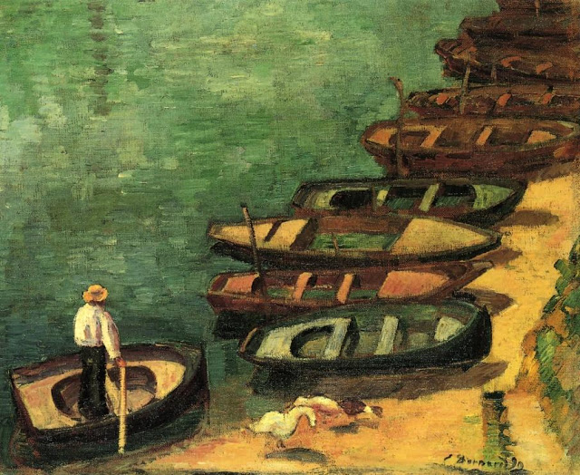 1890, Boats at Pont-Aven