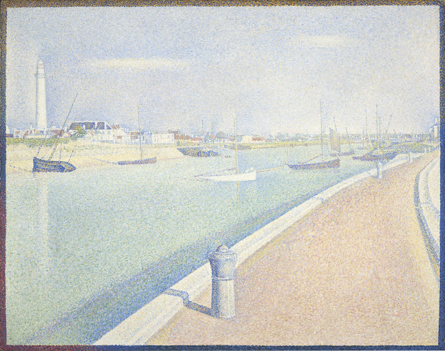 Georges Seurat The Cahnnel Gravelines, 1890