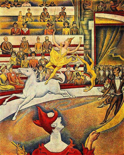 Georges Seurat Seurat Le Cirque, 1891