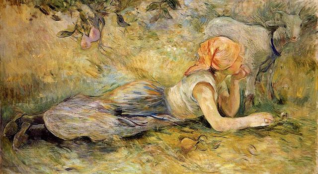 Pasterka leżąca, 1891