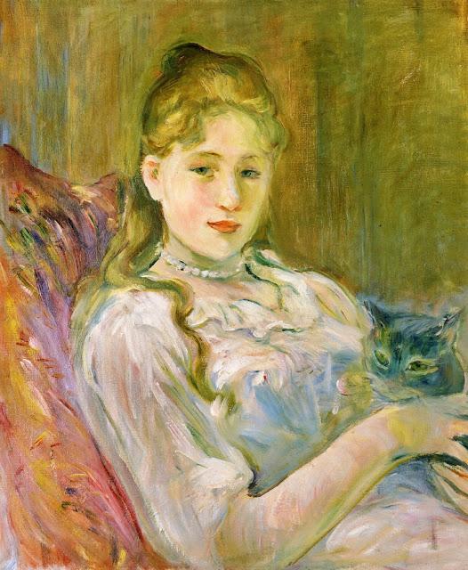 Dziewczynka z kotem, 1892