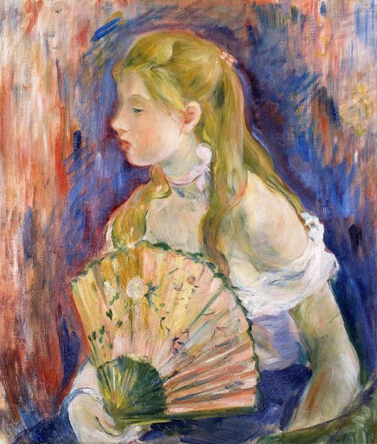 Dziewczynka z wahlarzem, 1893