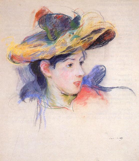 Jeanne Pontillon w kapeluszu, 1893