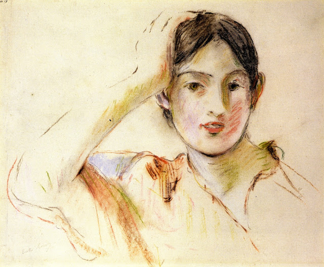 Jeanne Pontillon pastel, 1893