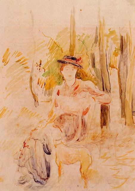 Jeune Fille a la Levrette, 1893
