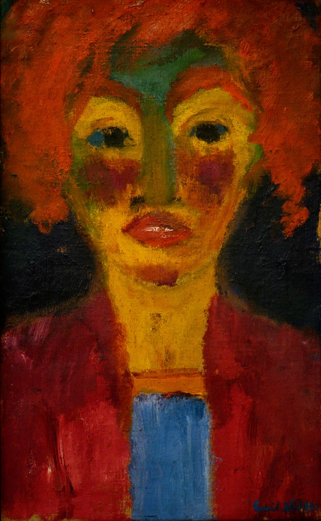 Red-Haired Girl, 1919