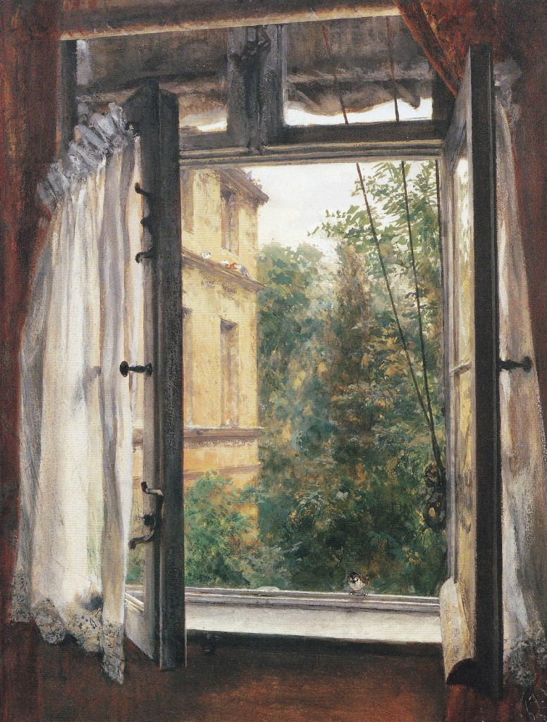 View from a Window in Marienstrasse, 1867
