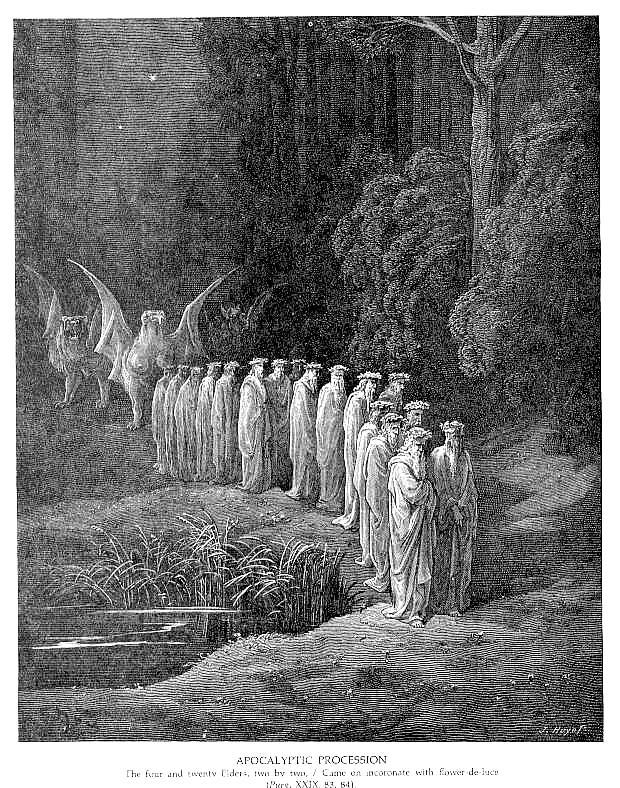 Apokaliptyczna procesja (Komedia Dantego)