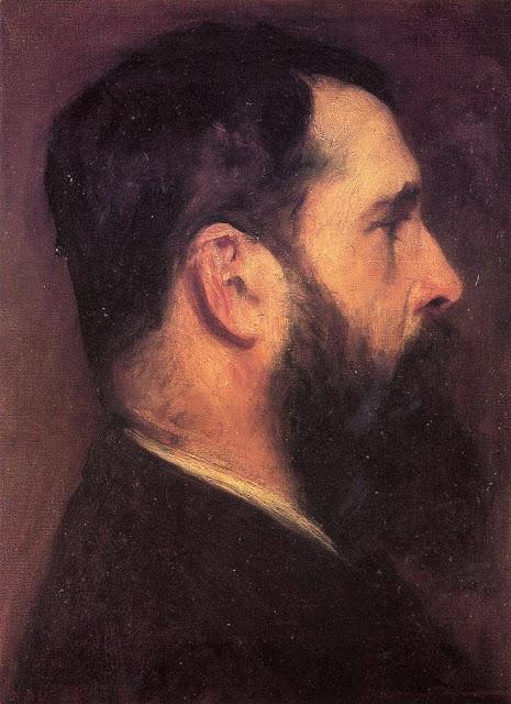 John Singer Sargent, Portrait Claude'a Moneta, 1889