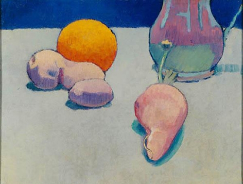 1887, Still Life with Orange