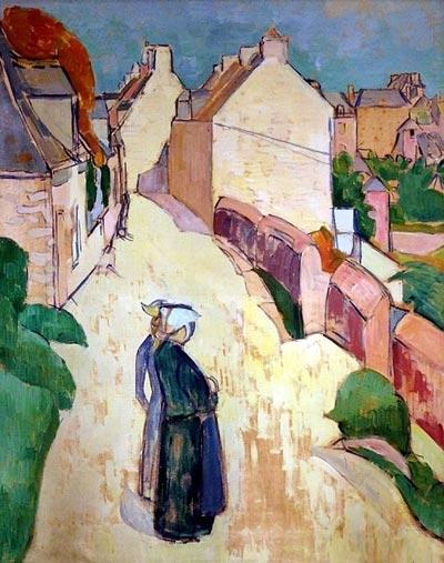 1886, Street in Saint Briac