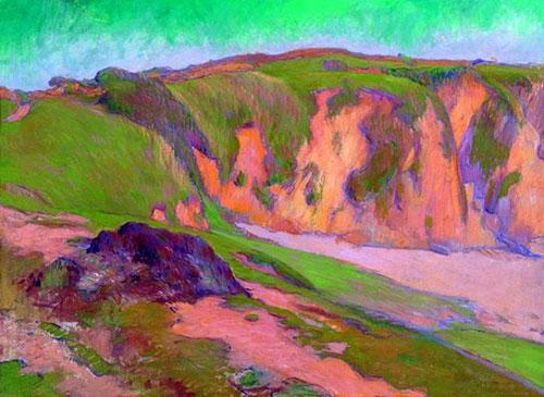 1887, The Cliffs at Le Pouldu
