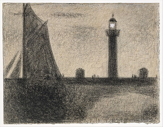 Georges Seurat The Lighthouse at Honfleur, 1886