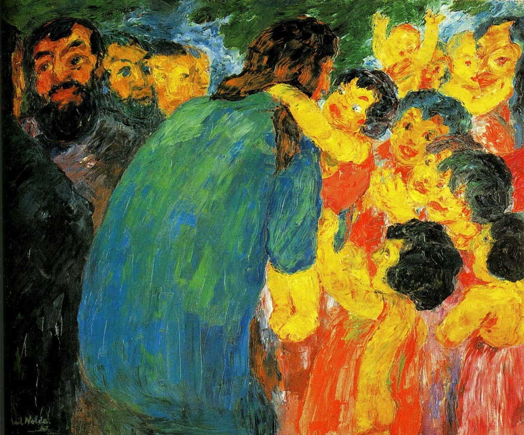 Christ Among the Children, 1910