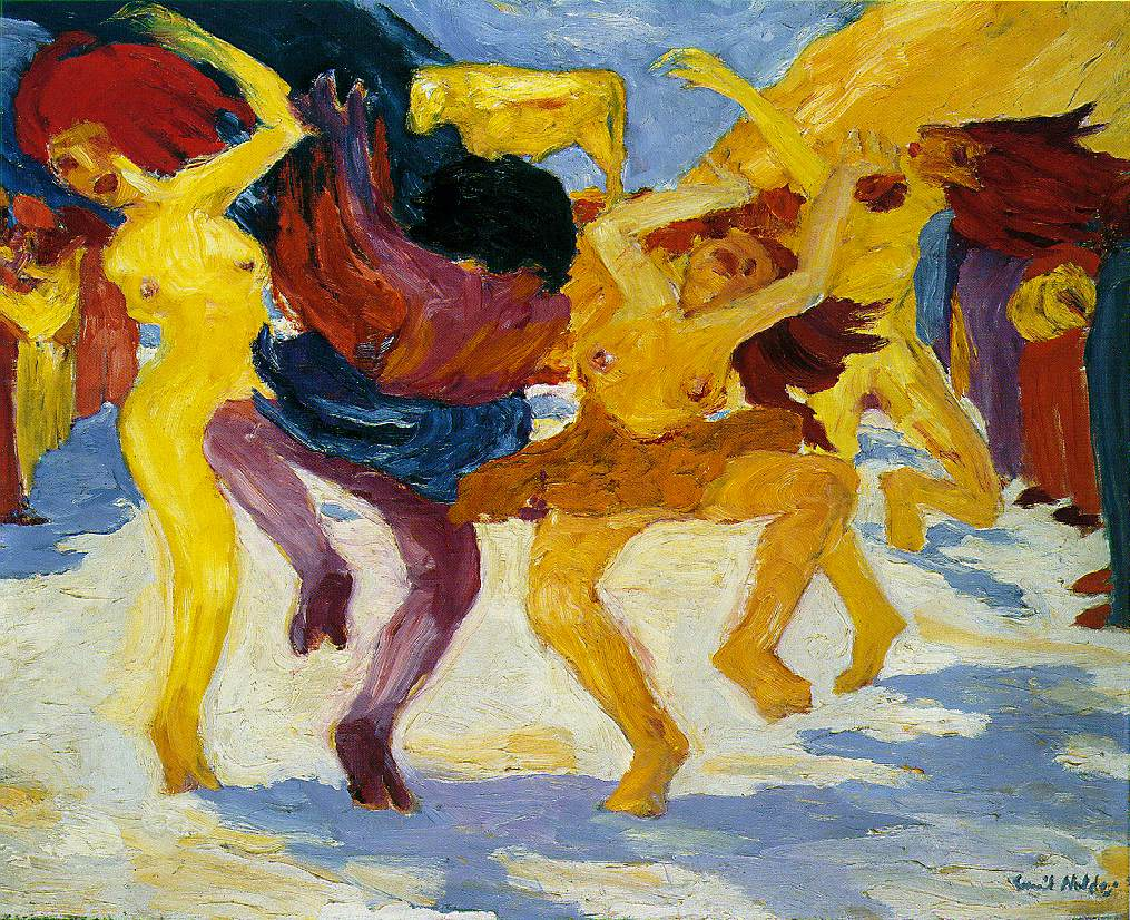 Dance around the golden calf, 1910