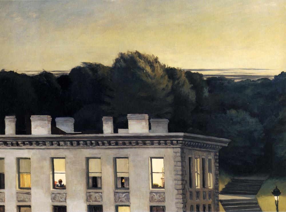 House at dusk, 1935