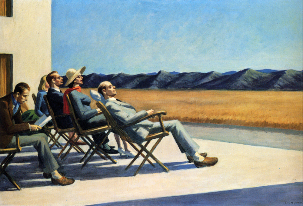 People in the sun, 1960