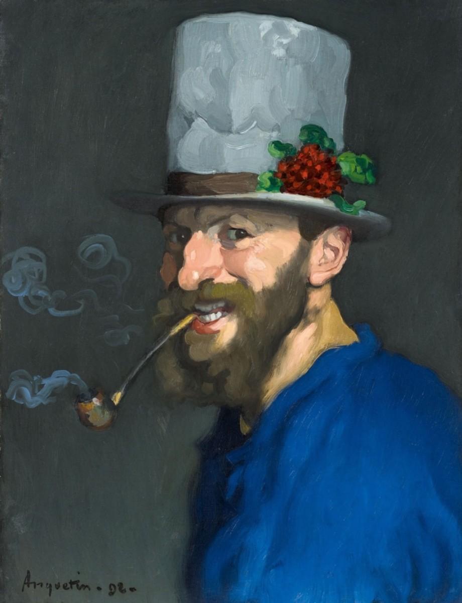 Autoportrait à la pipe, 1892