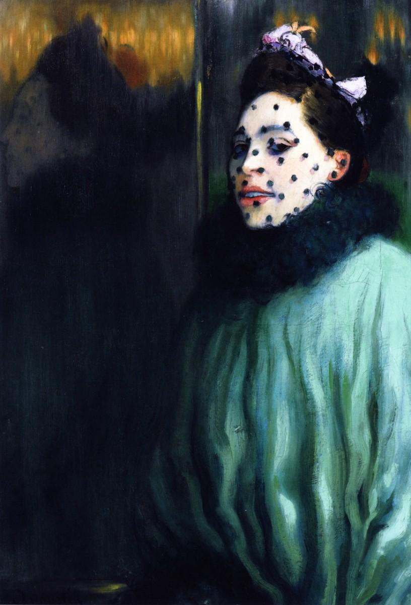 Femme a la Voilette, 1891.