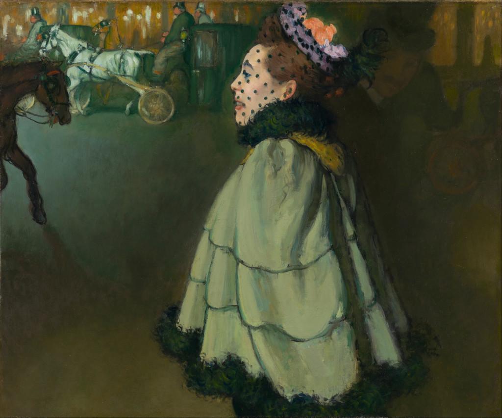 Femme aux Champs-Élysées la nuit (1889-1893)