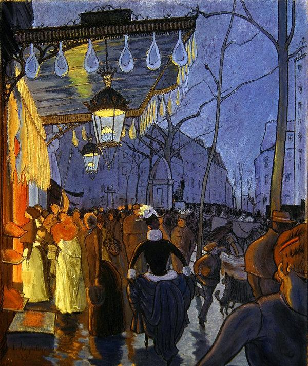 Avenue Clichy Paris, 1887