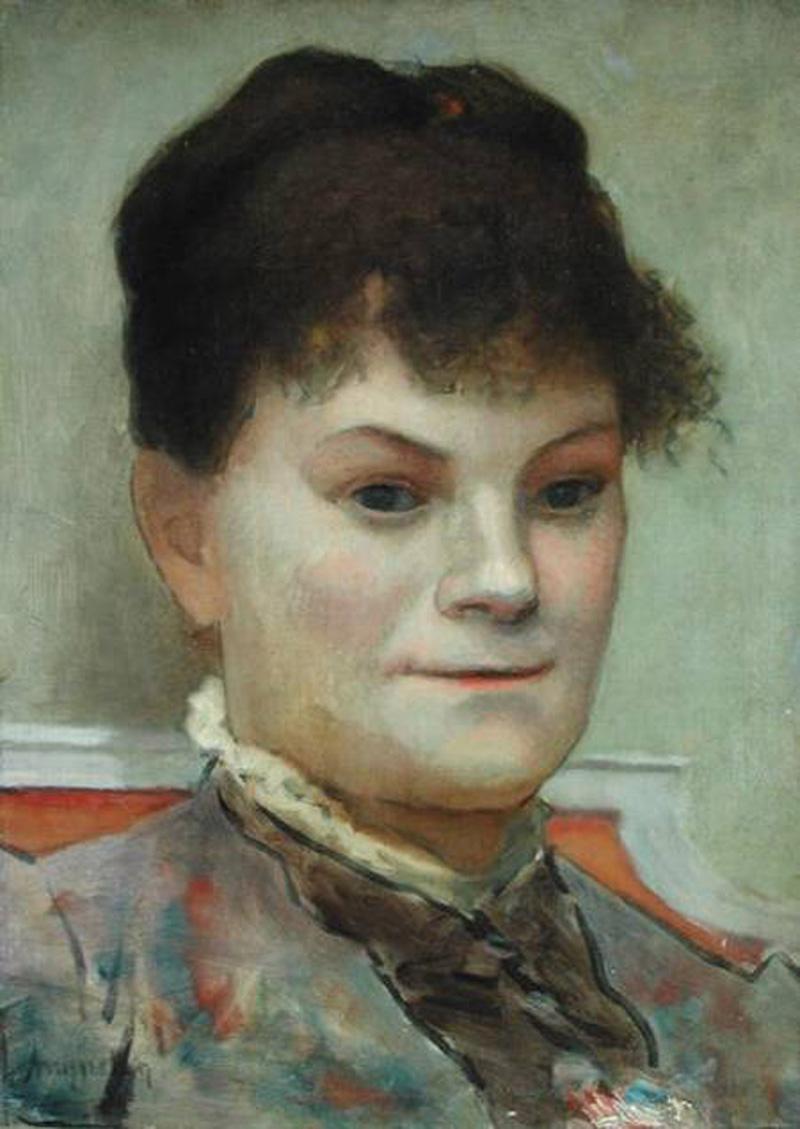 Portrait of La Goulue, c.1880-85