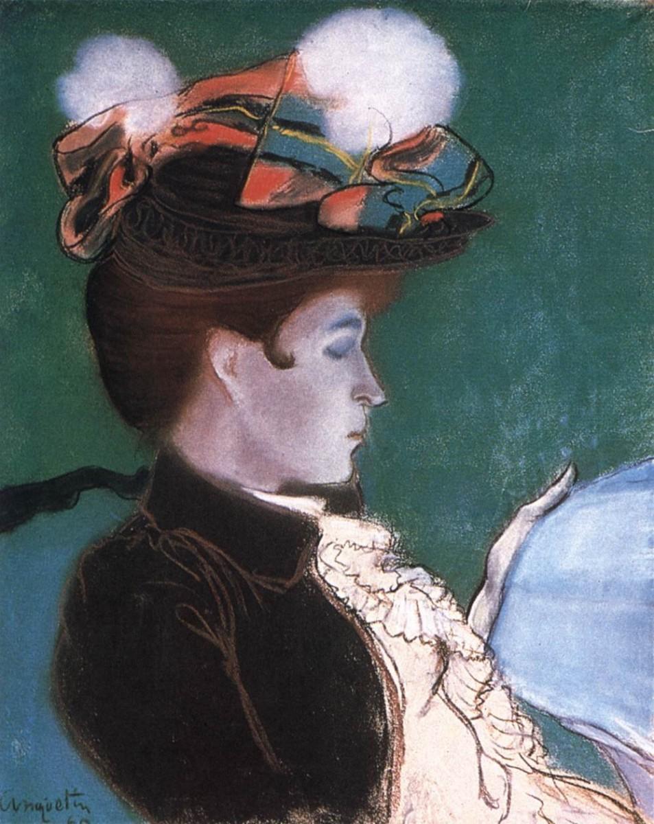 Reading women, 1890