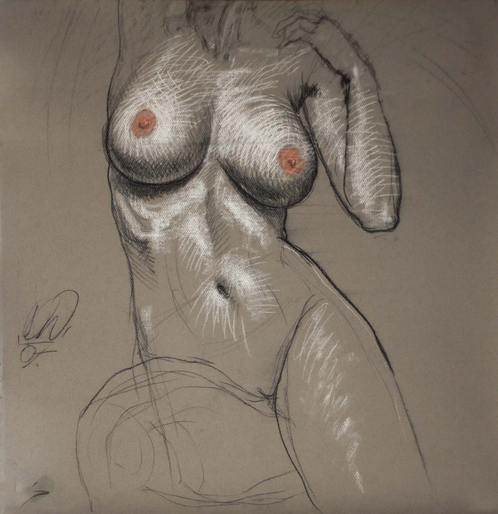 drawing_dominik_wdowski_im_a_woman_2008