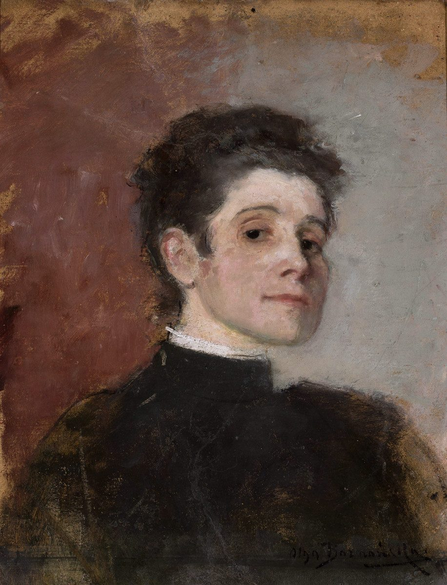 Olga Boznańska Self-portrait | 1896, National Museum, Warsaw