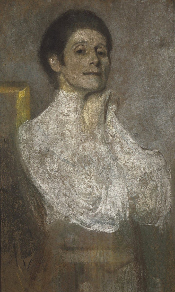 Olga Boznańska Self-portrait | c. 1906, National Museum in Cracow