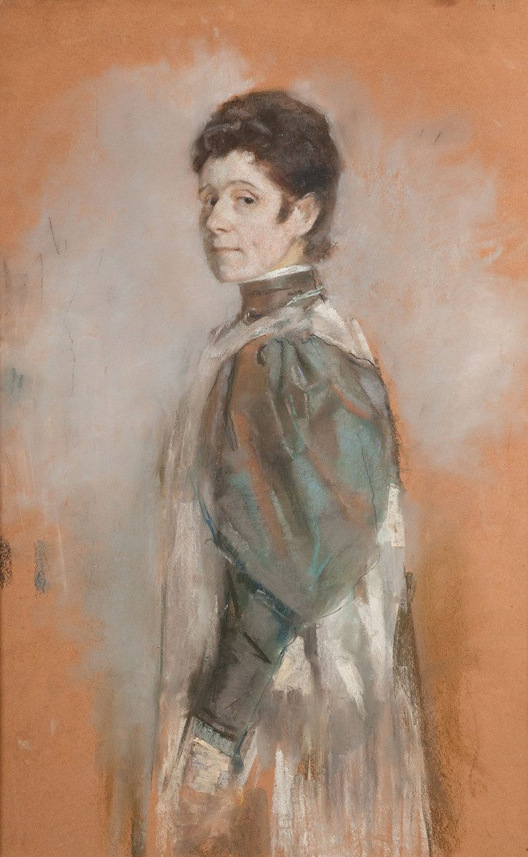 Olga Boznańska Self-portrait | 1898, National Museum in Cracow