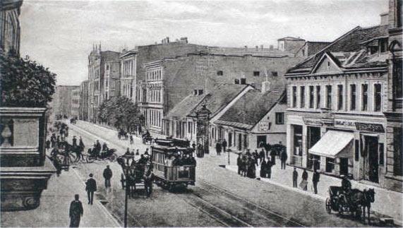 Piotrkowska Street, Lodz | 1900