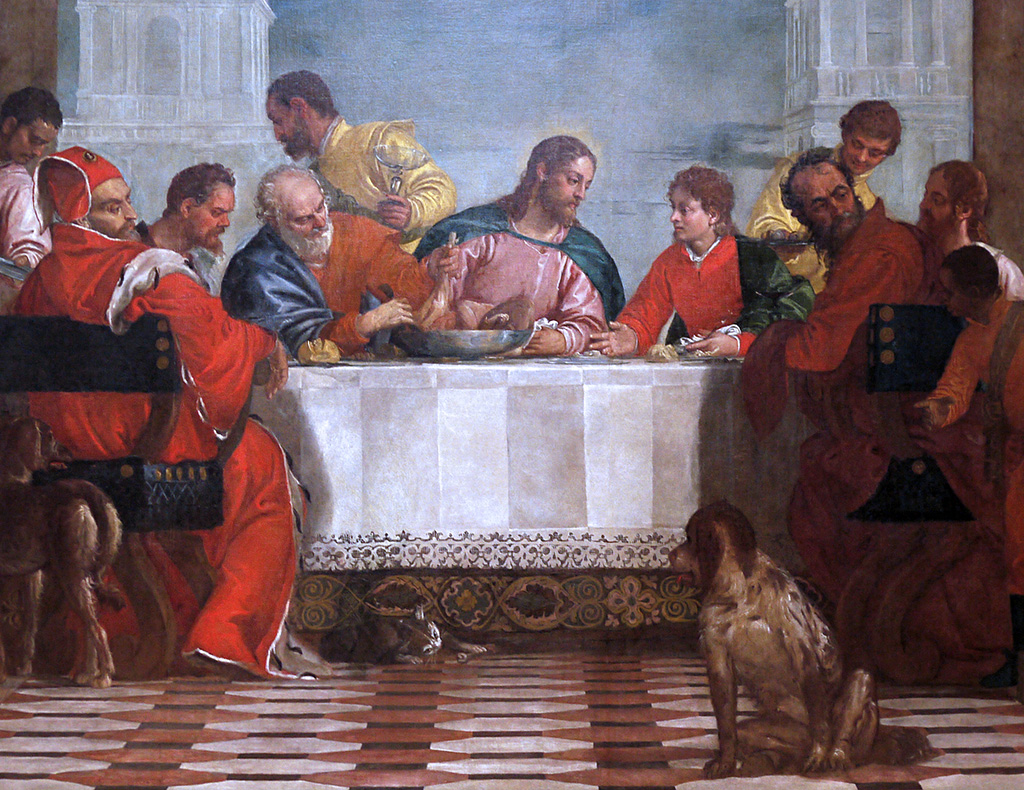Paolo Veronese The Feast in the House of Levi